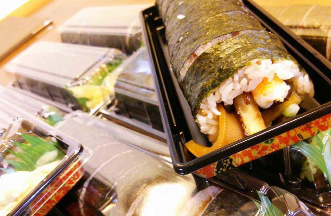 赤米巻き寿司